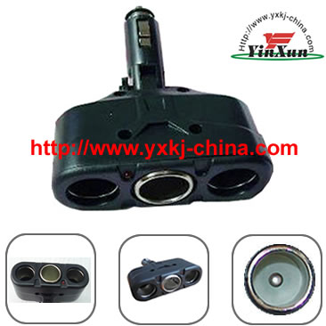 1 TO 3 TRIPLE CAR DC CIGARETTE LIGHTER SOCKET SPLITTER ,DC charger,adapter,power,DC charger,1 to 3 charger,1 to 3 car charger