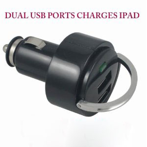 dual usb car charger,dual usb car charger for ipad and iphone and ipod,IPDA car charger,IPAD 2USB car charger,2USB car charger,IPDA car charger,two USB charger,5V2A 2USB car charger,IPOD car charger,car charger,USB car charger,new ipad charger,DC charger