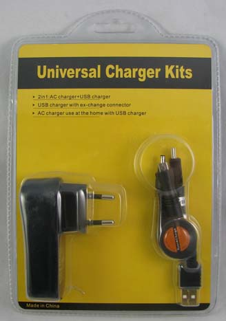 USB Travel charger kit