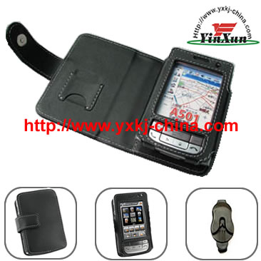 Leather Case for Mio501,Leather Case for PDA,Leather Case,Case