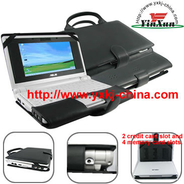 Leather case for Asus EEEpc 700