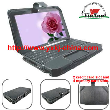 Leather case for HP mini 1000