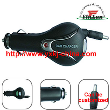 retractable cable Charger,retractable Charger,retractable car Charger